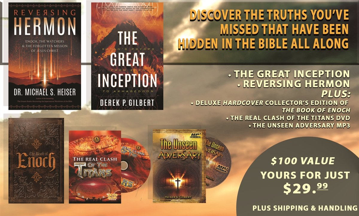 LIMITED TIME SPECIAL INVESTIGATIVE REPORT UNCOVERS FORGOTTEN MISSION OF JESUS AND INCLUDES FREE DELUXE HARDBACK COLLECTORS EDITION OF THE BOOK OF ENOCH AND MORE FREE GIFTS!