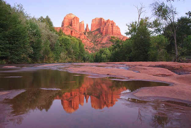 "Cathedral Rock: An ""energy vortex"" in Sedona"