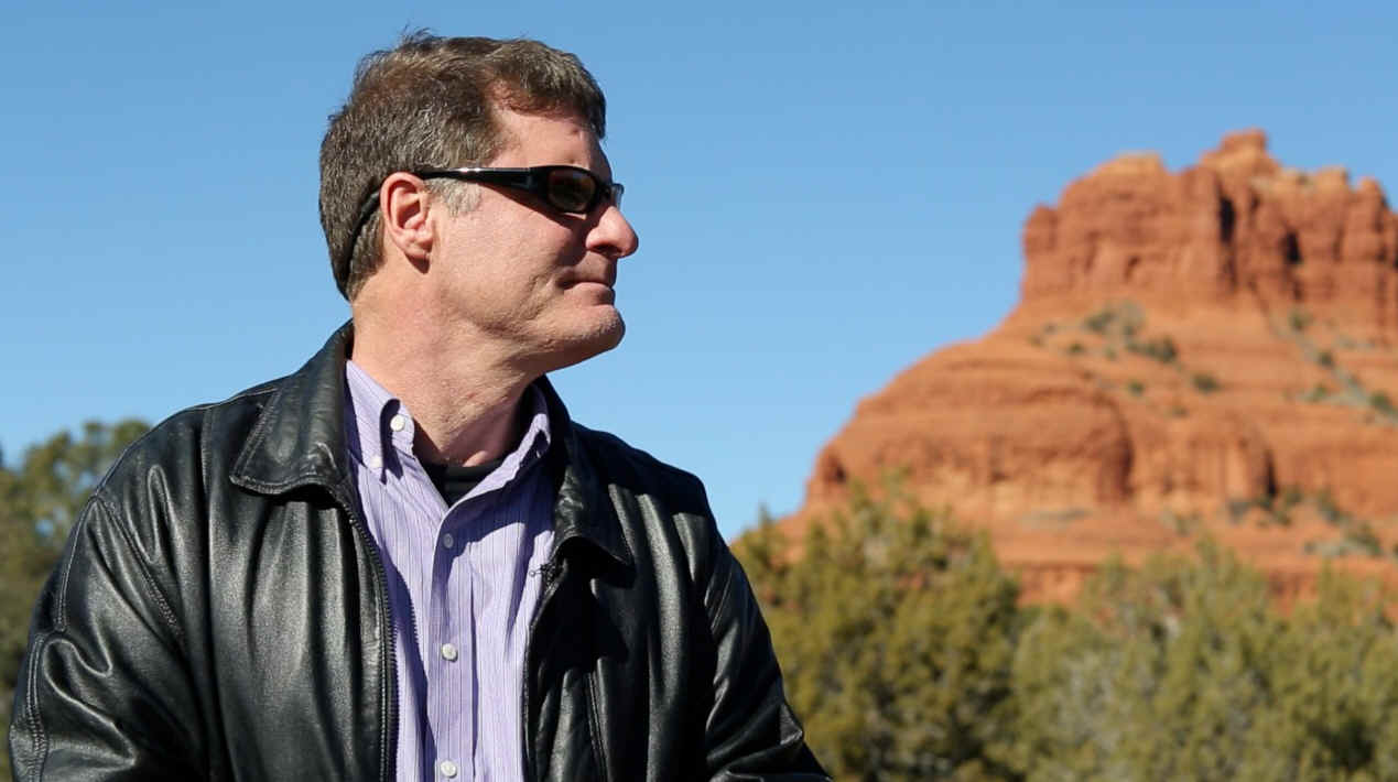 Cris Putnam in Sedona, Arizona—on the Path of the Immortals.