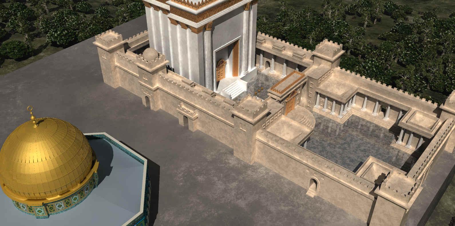 Resultado de imagem para third temple mesquita