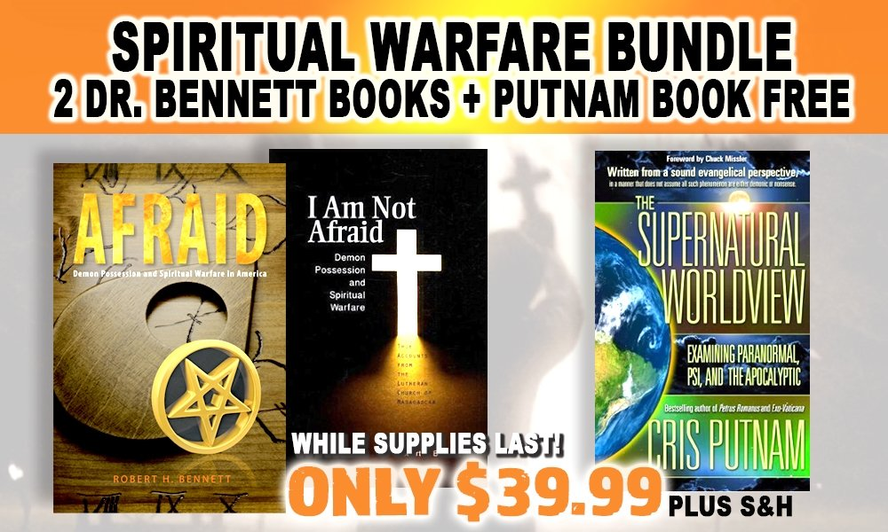 FREE! GET SUPERNATURAL WORLDVIEW WITH BOTH OF DR. BENNETT'S BOOKS!