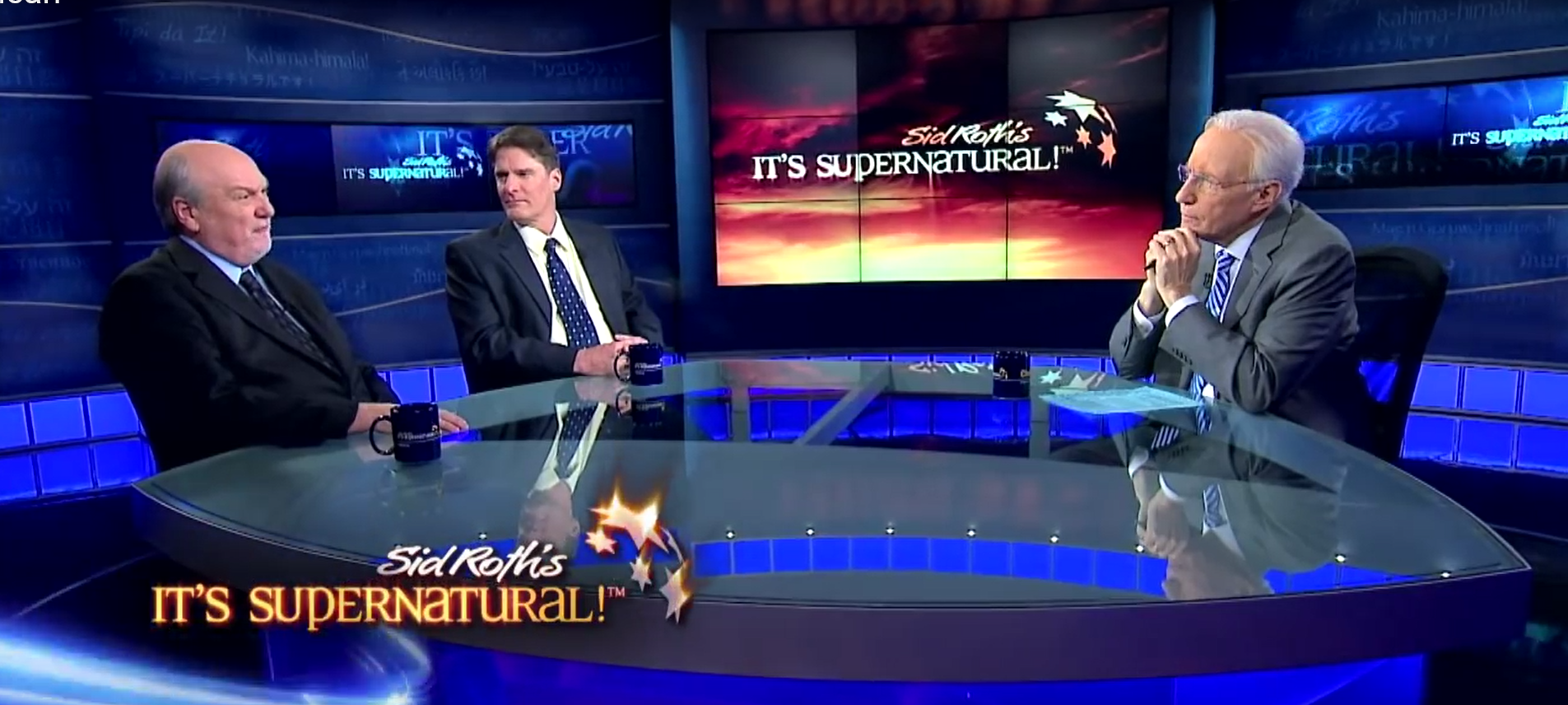 """Tom Horn and Cris Putnam on Sid Roth's """"It's Supernatural"""""""