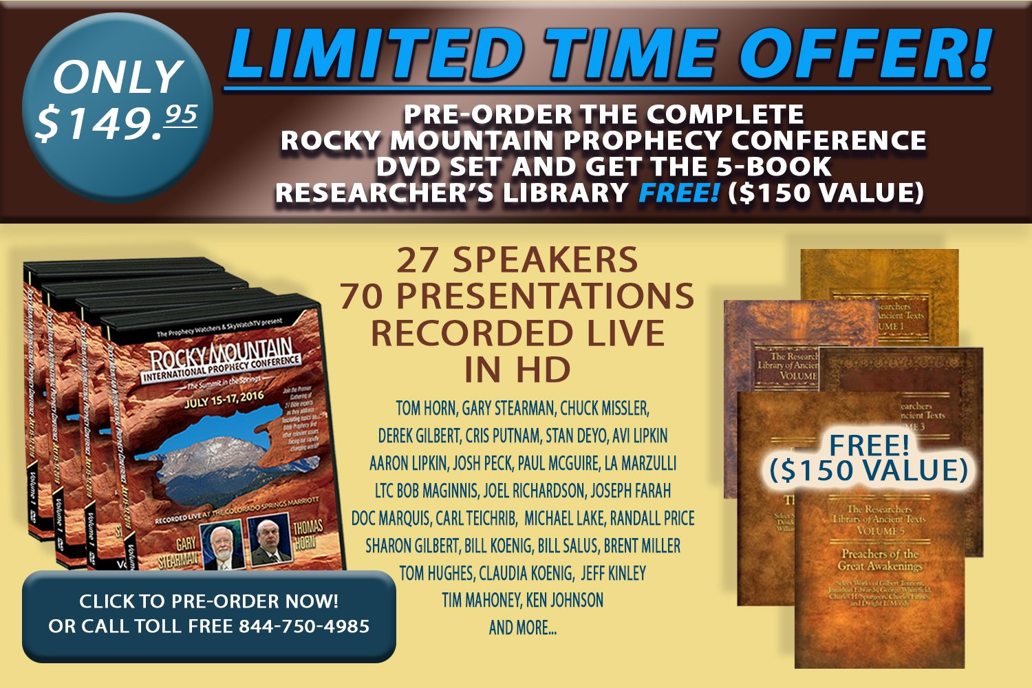DVD Rocky Mountain Pre-Sale Final Version