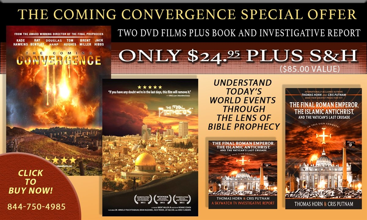 "FREE MOVIE, FREE BOOK, FREE INVESTIGATIVE SERIES WITH NEW ""THE COMING CONVERGENCE""!"