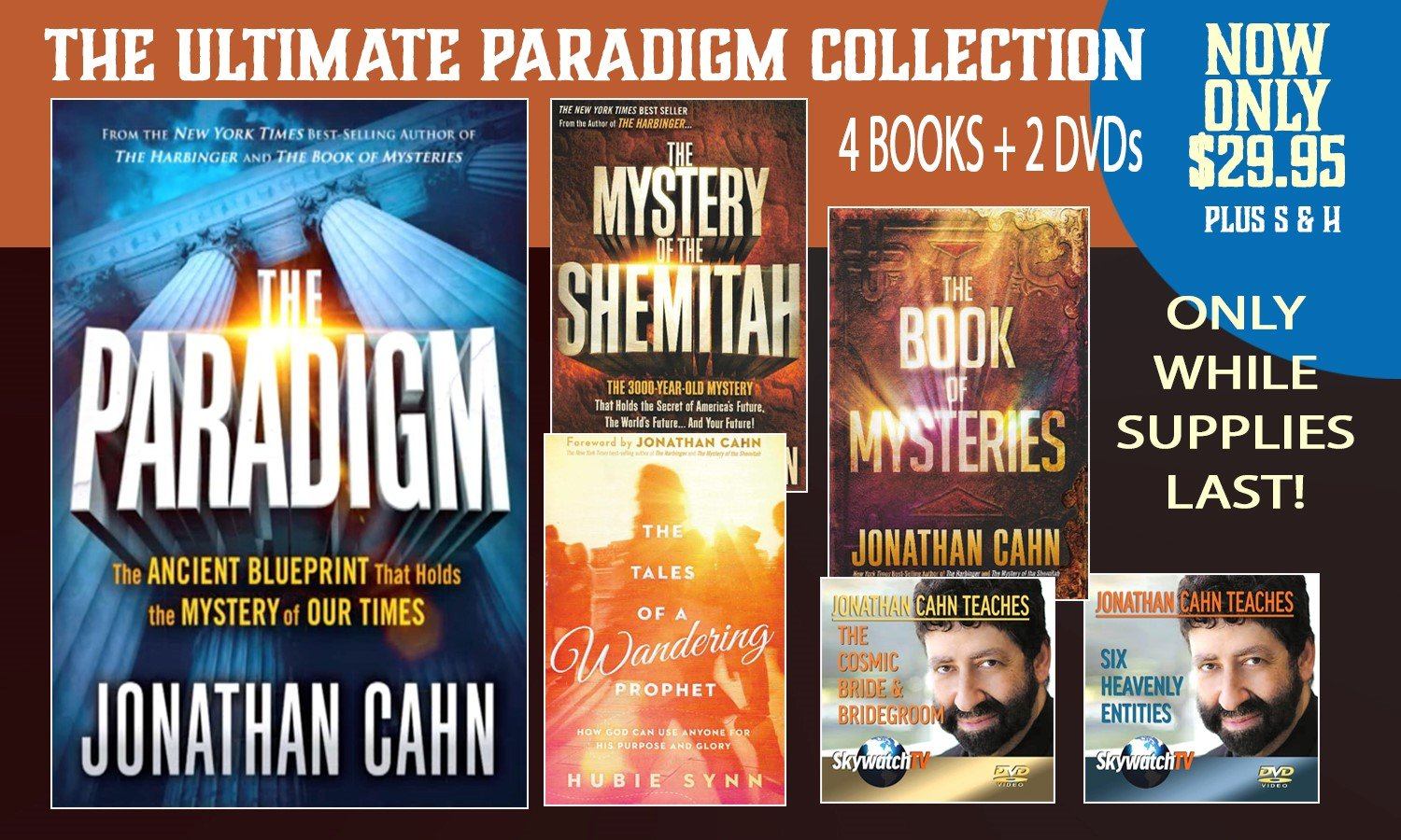 FREE SKYWATCH EXCLUSIVE! The Ultimate Paradigm Collection -- FREE BOOKS & DVDS!